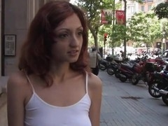Sexy pretty gal gets mind fucked and thraldom sex.