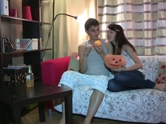 Anything can happen on Halloween and even this shy eighteen y.o. chick lastly makes a decision to try anal sex with her ever horny boyfriend. This Babe starts it all with a mind boggling oral sex engulfing dong good to prepare it for her constricted virgin wazoo hole, then follows with getting anally fingered and taking some great backdoor fucking in various poses. Doggystyle or not - this inexperienced legal life-span teenager cutie enjoys each pont of time of it with completely recent unfathomable and extremely powerful sensations.
